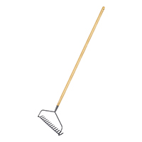 Carbon Steel Long Handled Soil Rake